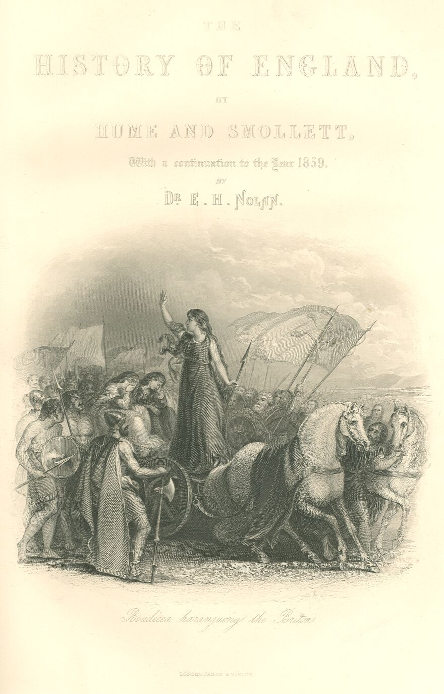 Titlepage.jpg Boadicea Haranguing the Britons