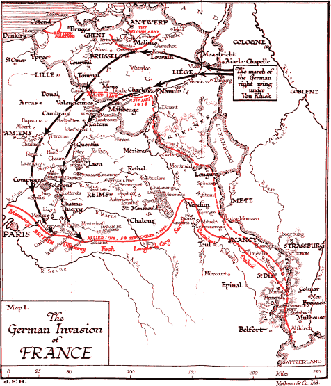 The German Invasion Of France