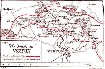 The Attack On Verdun