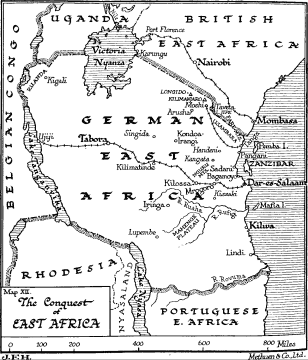 The Conquest Of East Africa