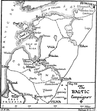 The Baltic Campaigns