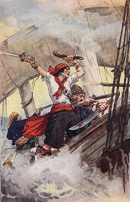 """""""'they boarded the ship with great agility'""""—Page 92"""