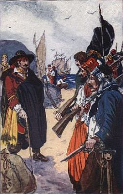 """""""captain morgan recruiting his forces""""—Page 115"""