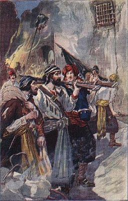 """""""'morgan re-entered the city with his troops'""""—Page 215"""