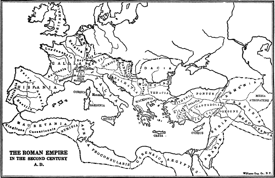 The Roman Empire in the Second Century A.D.