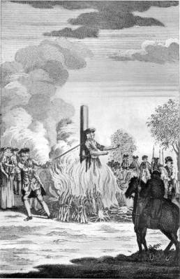CATHERINE HAYES BURNT FOR THE MURDER OF HER HUSBAND