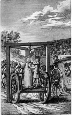 STEPHEN GARDINER MAKING HIS DYING SPEECH AT TYBURN