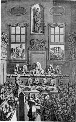 TRIAL OF A HIGHWAYMAN AT THE OLD BAILEY