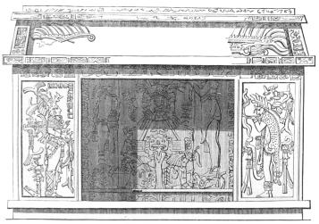 YUCATAN ALTAR.