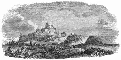RUINS OF THE PYRAMID OF CHOLULA.