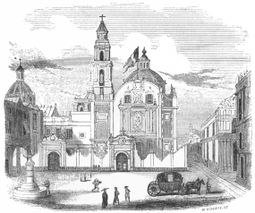 CHURCH OF SAN DOMINGO AND THE INQUISITION.