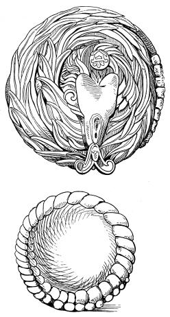 AZTEC SERPENT FIGURES.