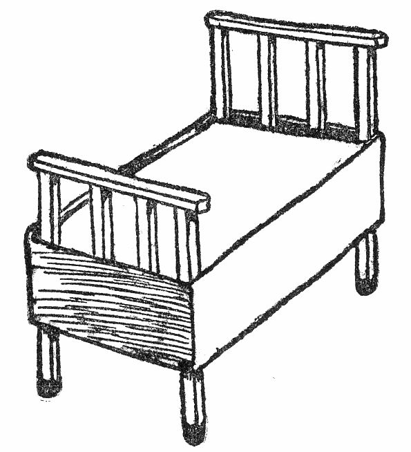 Match-Box Bedstead