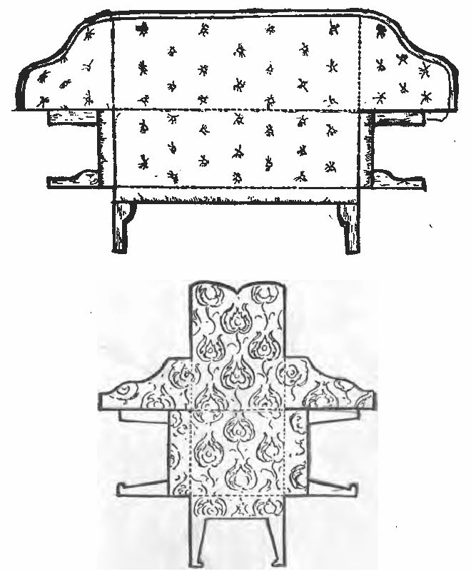 Sofa and Arm-Chair