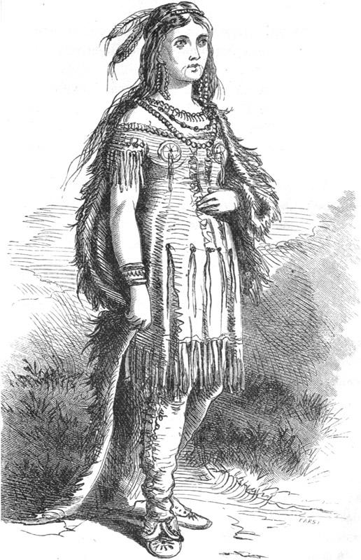 Mrs. Eastman in Costume