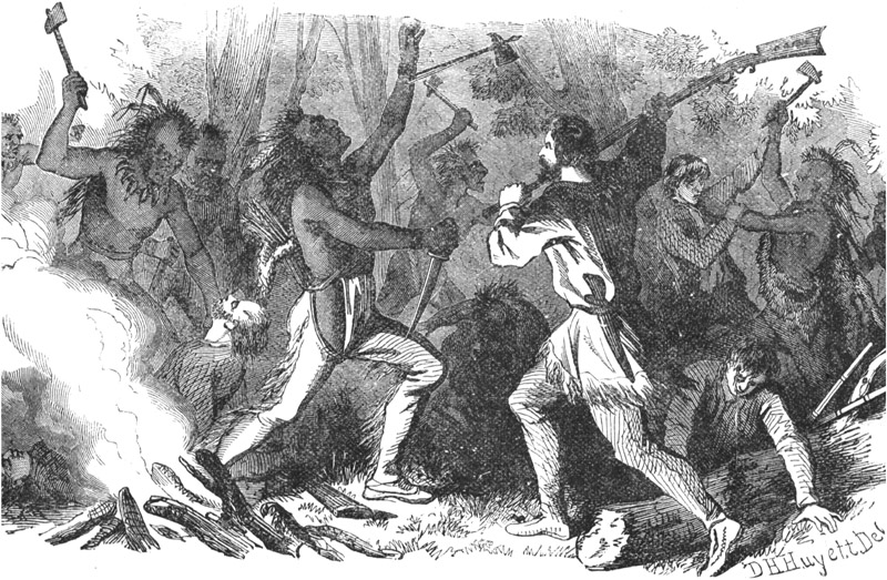Massacre of Whites on the Western Frontier