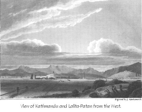 View of Kathmandu and Lalita Patan from the West