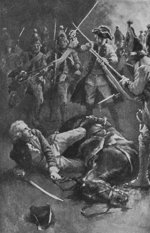 Before he could extricate himself, Fergus was surrounded by Austrians