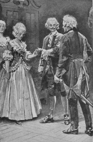 'Take her, Drummond, you have won your bride fairly and well'