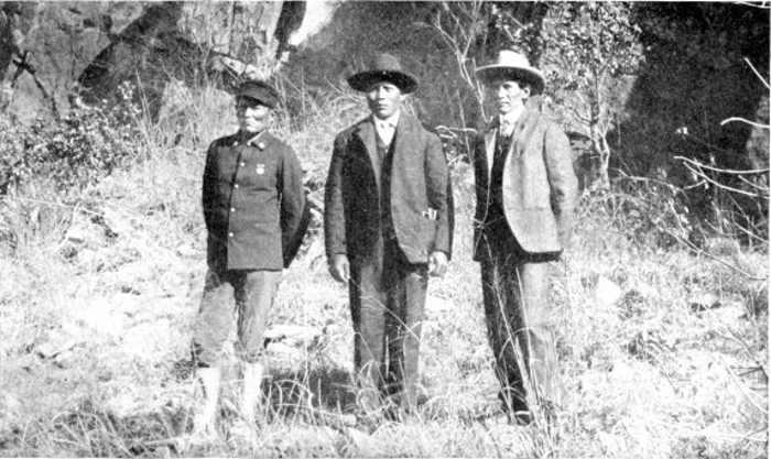 THREE APACHE CHIEFTAINS