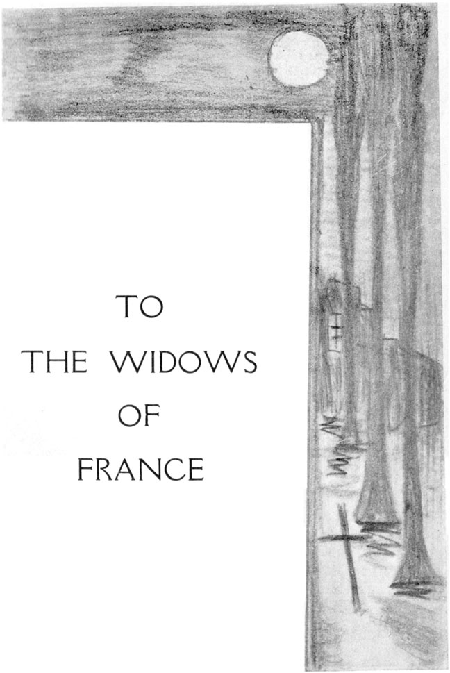 TO THE WIDOWS OF FRANCE