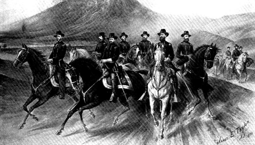 ARMY AND CORPS COMMANDERS OF THE ARMY OF THE TENNESSEE