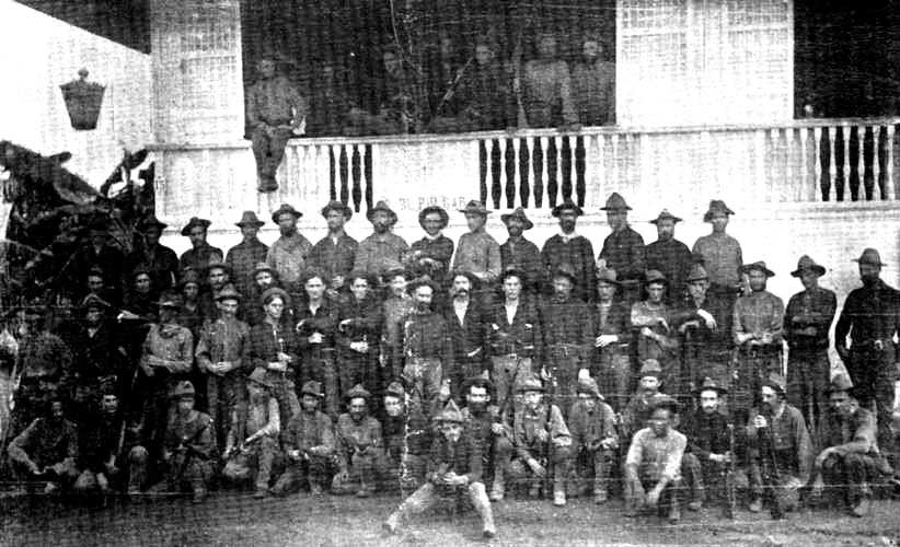COMPANY L, FIFTY-FIRST IOWA INFANTRY, 1898, IN PHILIPPINES