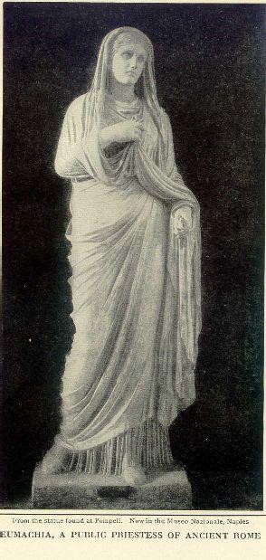 Eumachia, a public priestess of ancient Rome.