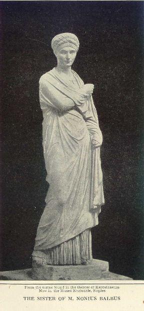 The sister of M. Nonius Balbus.