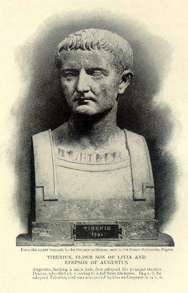 Tiberius, elder son of Livia and stepson of Augustus.