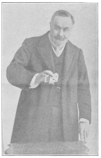 """Charles Bertram (James Bassett), the English author and conjurer, who wrote """"Isn't it Wonderful?"""" Born 1853, died Feb. 28th, 1907. From the Harry Houdini Collection."""