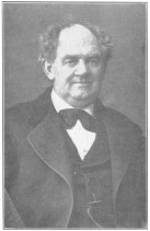 The late P. T. Barnum, the world's greatest showman, who bought the writing and drawing figure from Robert-Houdin, and wrote at length of the French conjurer in his autobiography. Born July 5, 1810. Died April 7, 1891. From the Harry Houdini Collection.