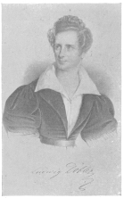 Ludwig Döbler in his prime, taken about 1839. The original of this rare picture was discovered by the author in a small print shop in Moscow, Russia. It is now a part of his Collection.