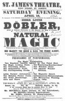 A Döbler programme from the Evanion collection, dated 1842, now in the possession of the author.