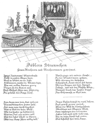 Döbler's farewell programme in verse, used when he played his last engagement in the Josephstadter Theatre, Vienna. Original given by Döbler personally to Henry Evanion; now in the Harry Houdini Collection.