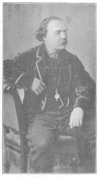John Henry Anderson as he appeared in his later years. From a cut in the Harry Houdini Collection.