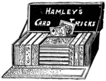 Hamley's card tricks