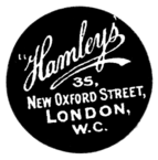 """Hamleys"" 35, New Oxford Street, LONDON, W.C."