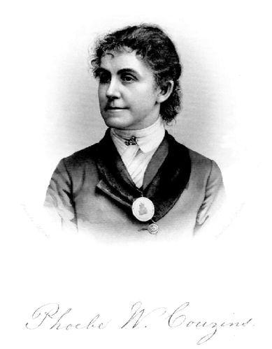 Phoebe W. Couzins.