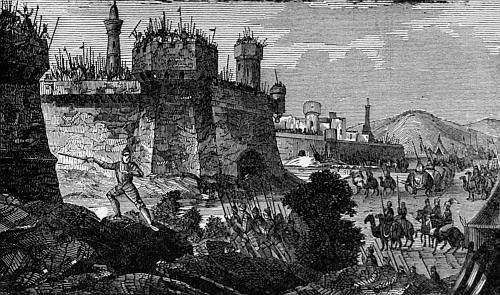 The Babylonians deriding Darius.