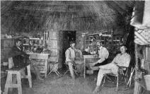 Interior Gen. Van der Voort's House. (April, 1900.)