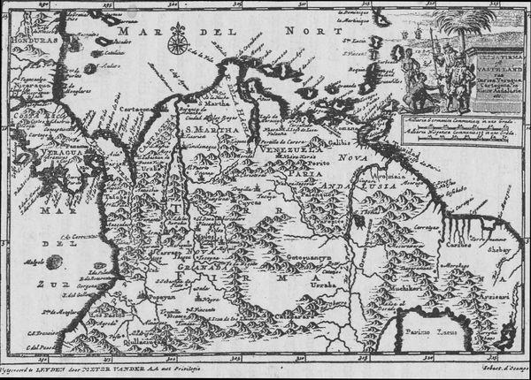 MAP OF TERRA FIRMA.