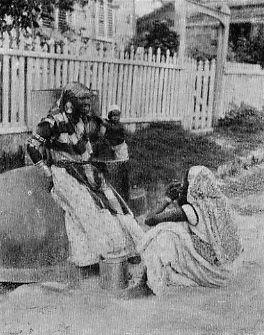 COOLIE WOMEN, BRITISH GUIANA.