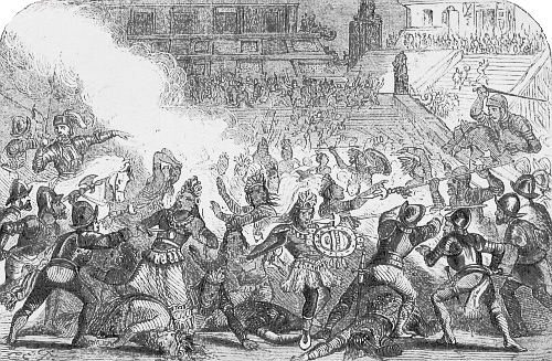 MASSACRE IN CHOLULA.