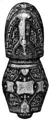 Fig. 37.—Side view of Pommel of Sword-hilt.