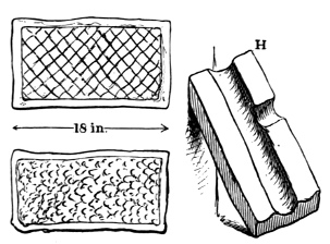 Fig. 265.—Stones in Earth-house at Crichton Mains.
