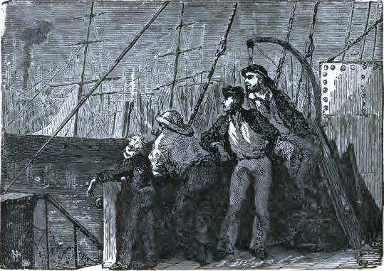 A sailor's keen glance