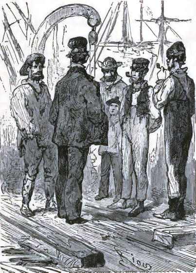 Nautilus sailors