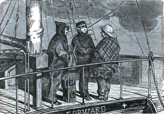 Conversation on deck