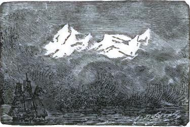 The coast of Greenland